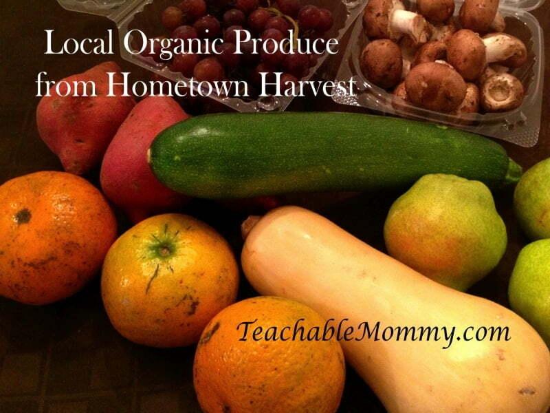 Hometown Harvest, local organic produce in DC MD Va