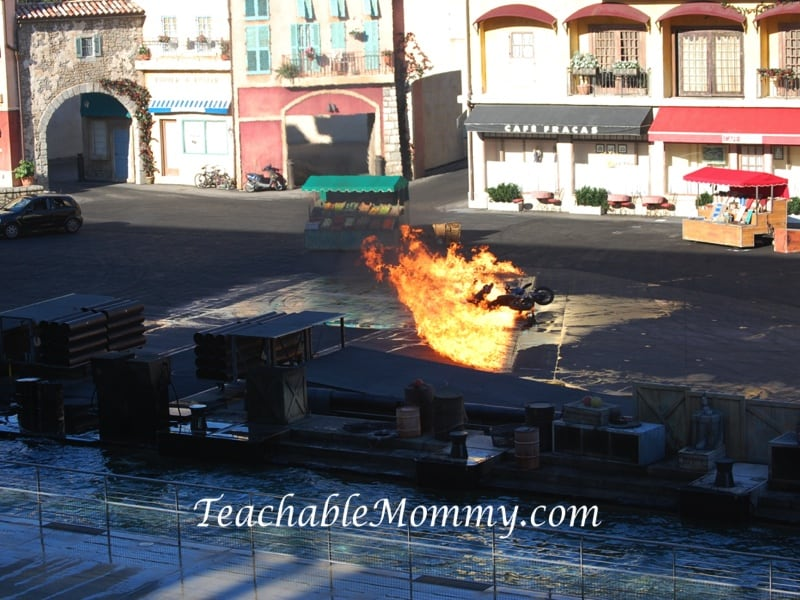 Hollywood Studios, Lights Camera Action Stunt Show