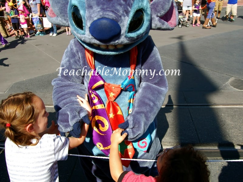 Magic Kingdom Parade, Disney Parade, Stitch