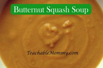 Butternut Squash Soup with Organic Squash from Hometown Harvest