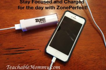 Staying Charged and Focused on Health with ZonePerfect #blogforward