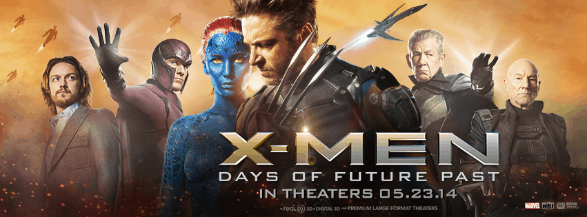 X Men Days of Future Past Movie Ticket Giveaway