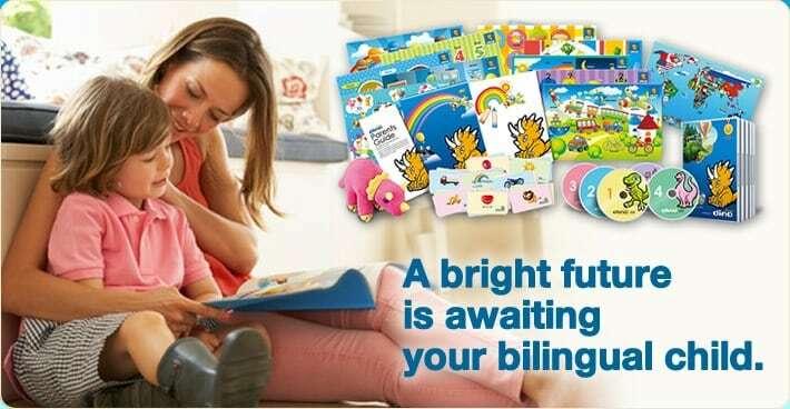 Dino Lingo Language Learning Set for Kids