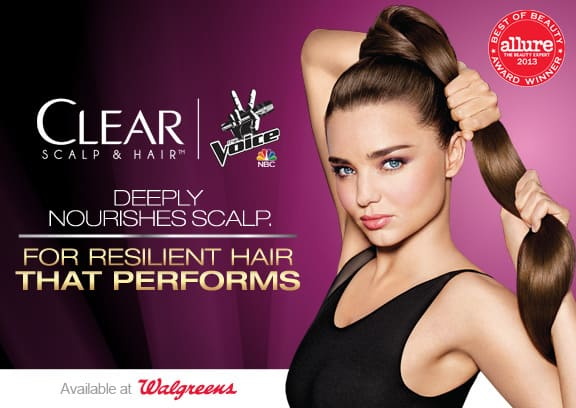 Clear Hair and Scalp 2 FREE song downloads at Walgreens