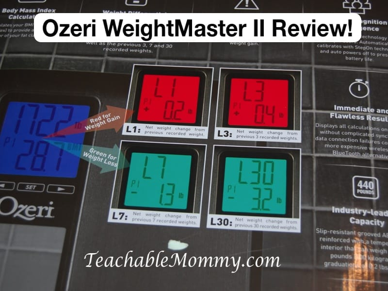 Ozeri WeightMaster II Bathroom Scale Review