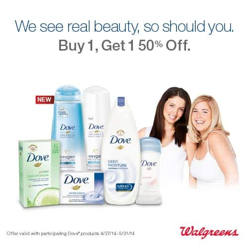 Dove and Walgreens Special Offer