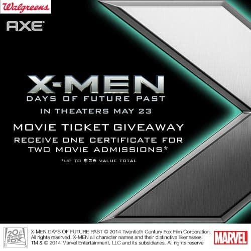X-MEN Movie Ticket Giveaway!