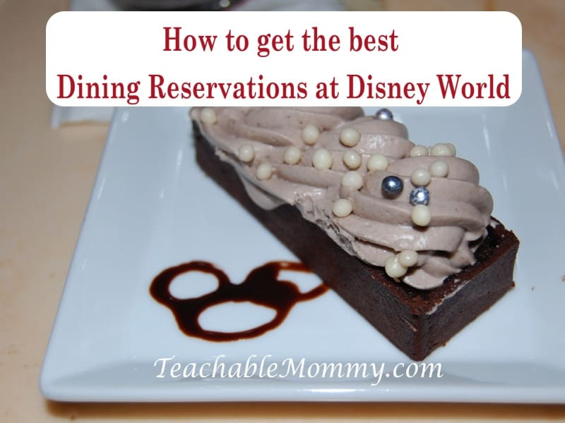 Getting the advanced dining reservations ADRs at Disney World, tips to getting hard to get reservations at Disney World, Be Our Guest, Grey Stuff dessert
