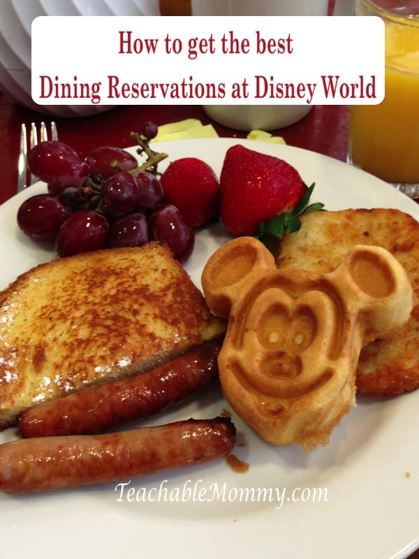 Getting the advanced dining reservations ADRs at Disney World, tips to getting hard to get reservations at Disney World, Chef Mickey's