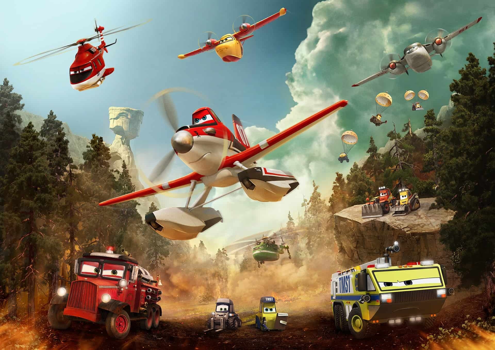 PLANES FIRE & RESCUE, free Planes printables