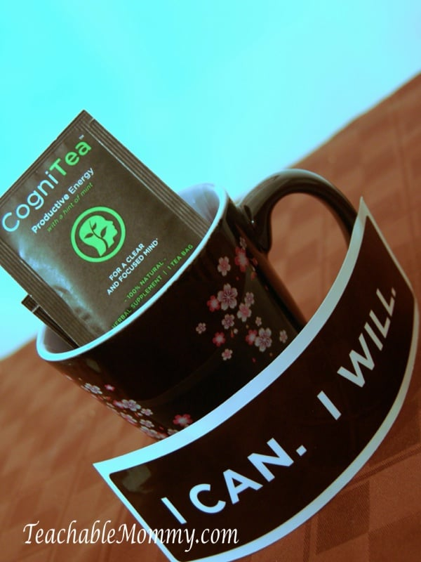 CogniTea, natural tea made with organic ingredients