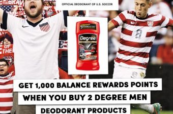Celebrate Team USA at the World Cup with Degree!