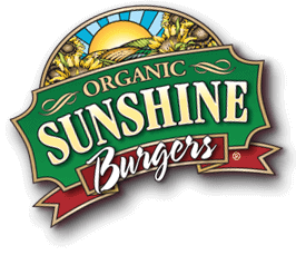 Sunshine Burger organic, non-GMO vegan veggie burger, veggie burger toppings