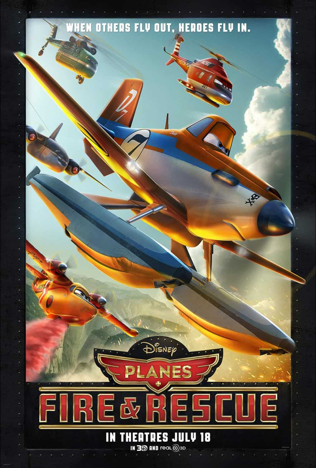 Planes Fire and Rescue Movie Review, Planes Free Printables, Planes Birthday