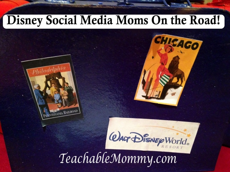 Disney Social media Moms on the road event