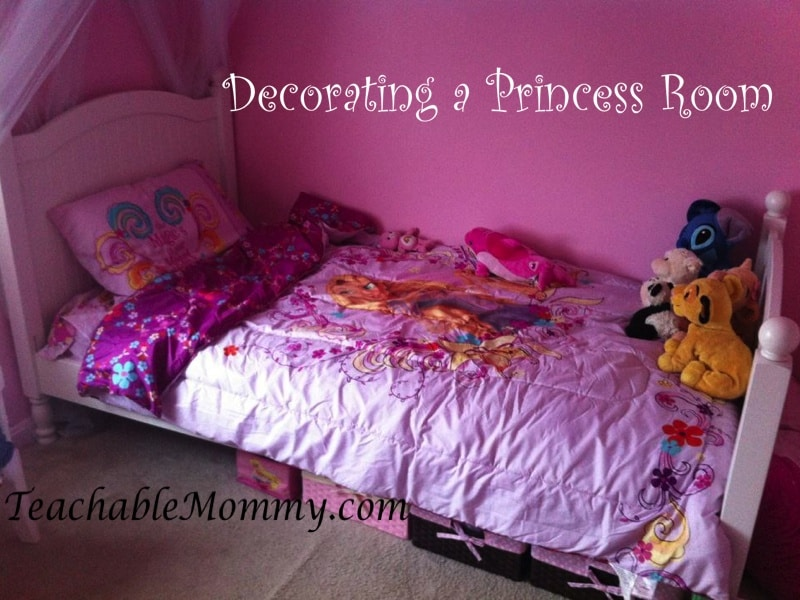 Princess Bedroom Decorations, Little girl room decorations