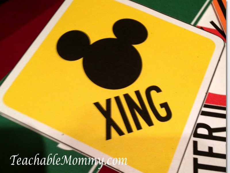 Disney Social media Moms on the road event, Mickey Mouse sign