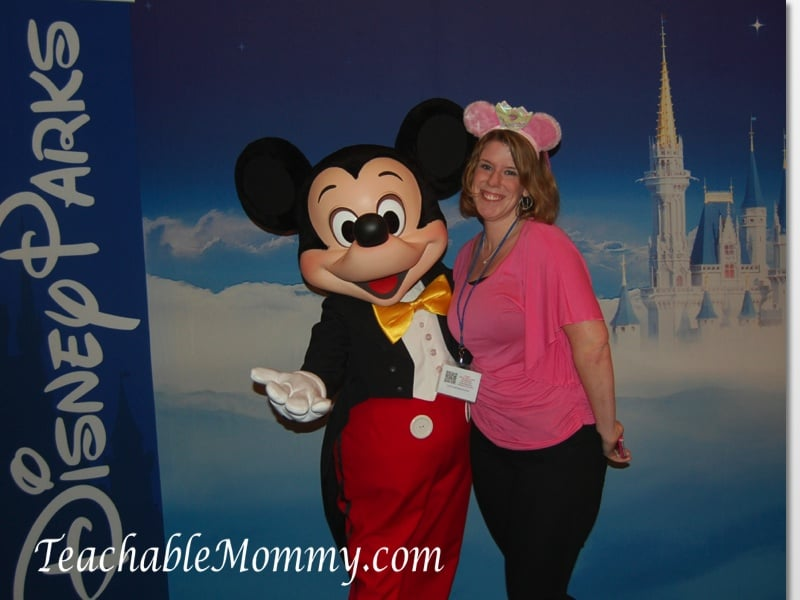 Disney Social media Moms on the road event, Mickey Mouse