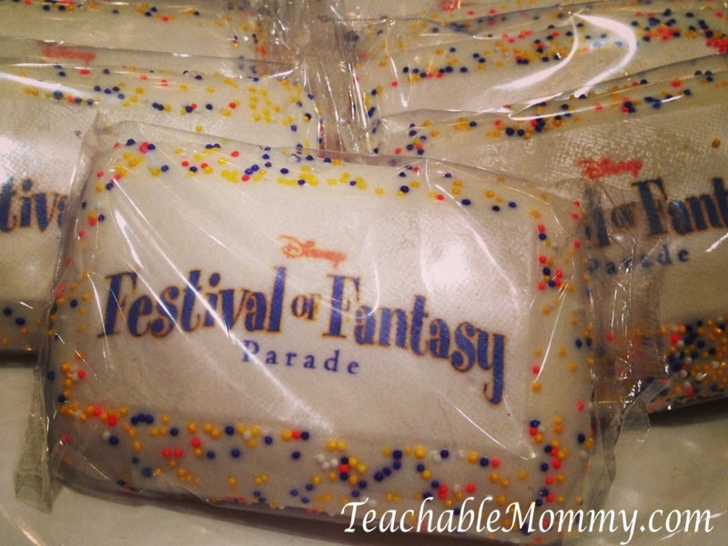 Disney Social media Moms on the road event, festival of fantasy cookie