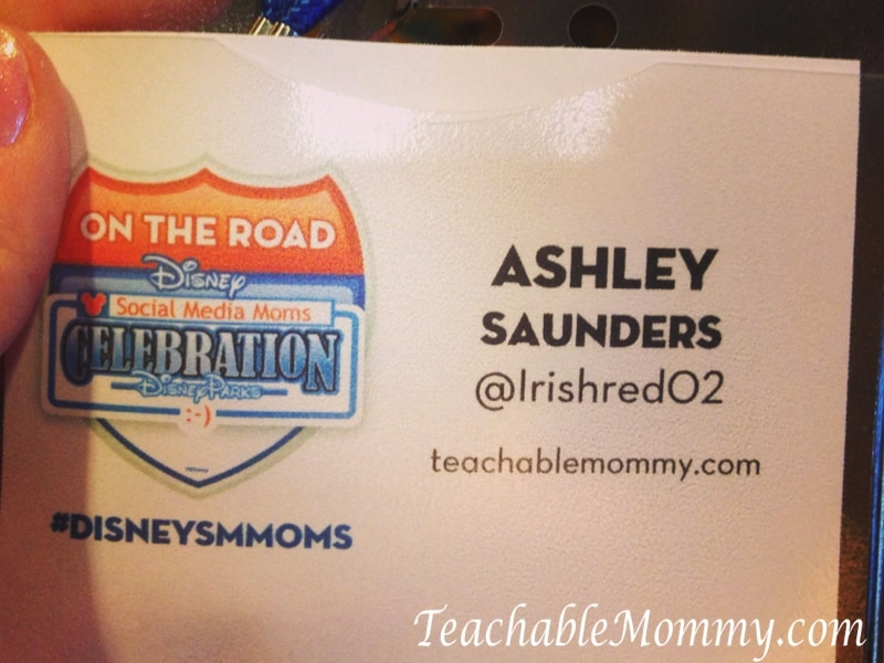 Disney Social media Moms on the road event