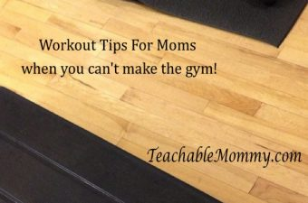 Workouts For Busy Moms
