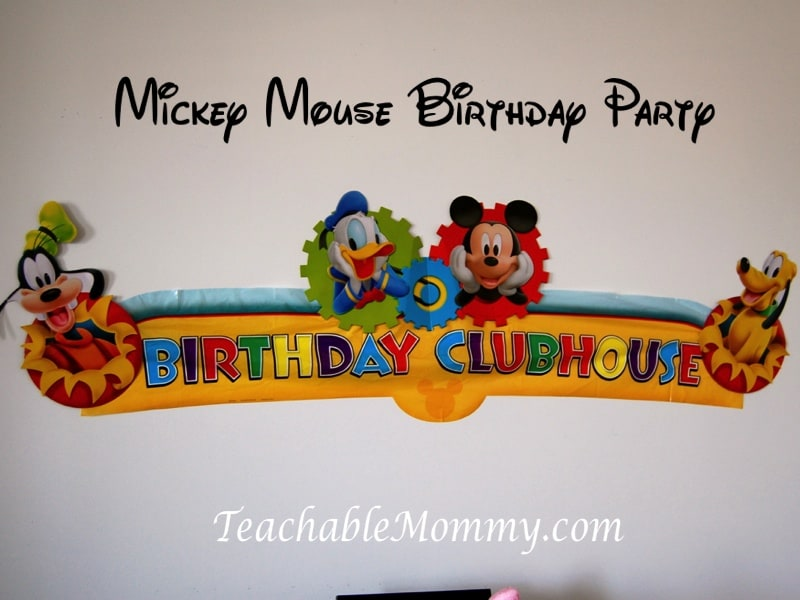 Mickey Mouse Birthday Party, Mickey Mouse Party, Mickey Mouse Luau