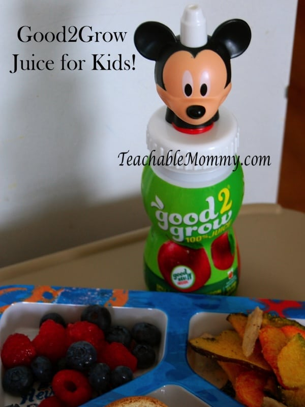 Good2Grow Juice Blends for kids, nongmo juice