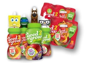 good2grow juice blends review, good2grow nongmo juice for kids