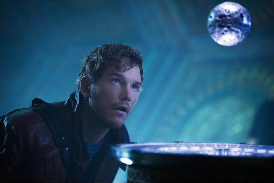 Guardians of the Galaxy Movie review, end credit scenes, movie images, Peter Quill