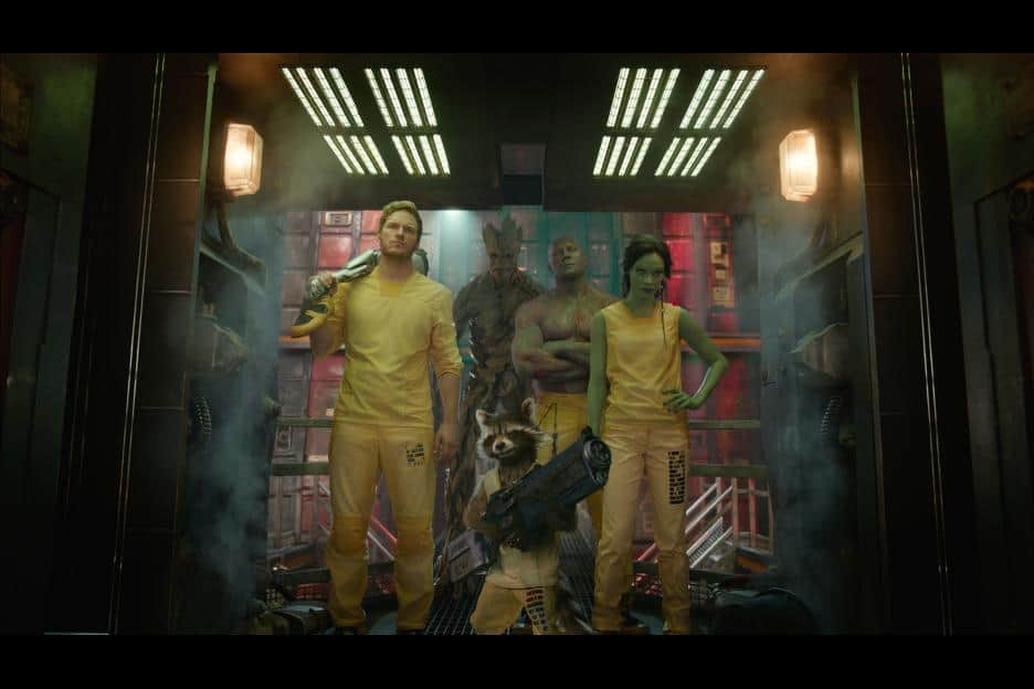 Guardians of the Galaxy Movie review, end credit scenes, movie images,