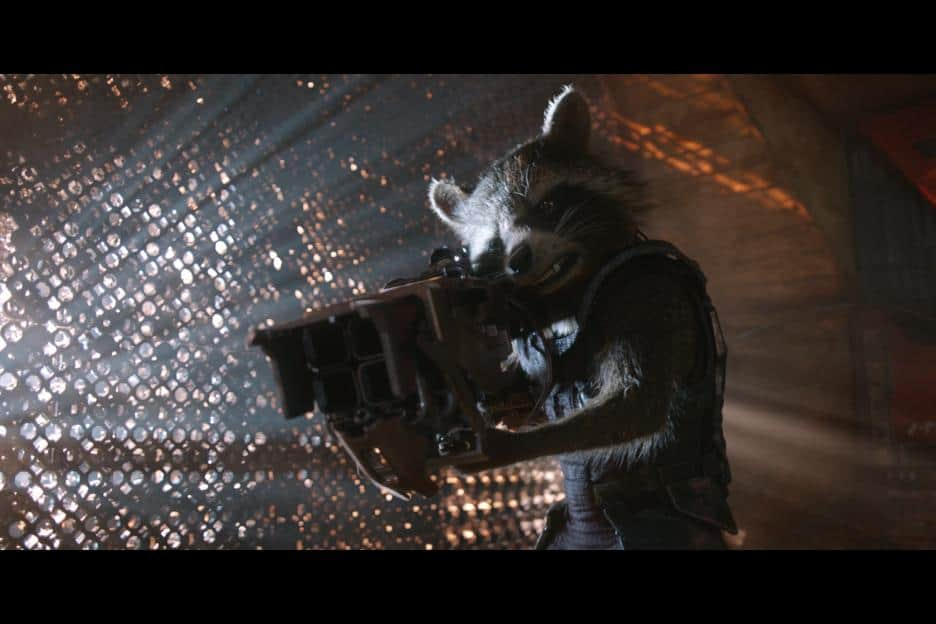 Guardians of the Galaxy Movie review, end credit scenes, movie images, Rocket