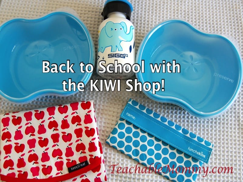 eco-friendly lunch, KIWI Shop Back to School, KIWI Shop discount code