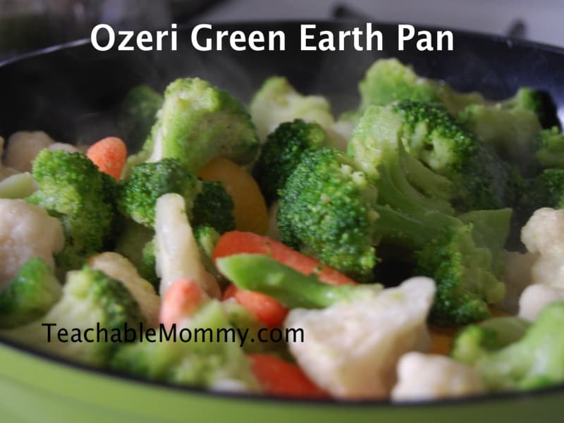 Ozeri Green Earth Pan review, no chemical non stick pan
