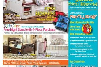 Belfort Furniture Back to School Event Saturday August 23!