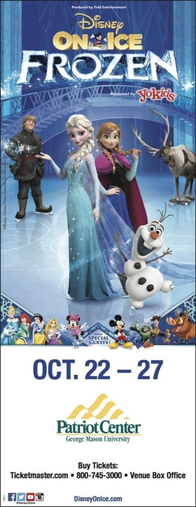 Disney On Ice Presents Frozen! Win Frozen On Ice Tickets