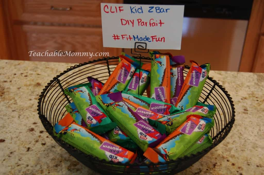 #FitMadeFun LeapFrog LeapBand, exercise for kids, fitness for kids, Clif Kid ZBar parfait