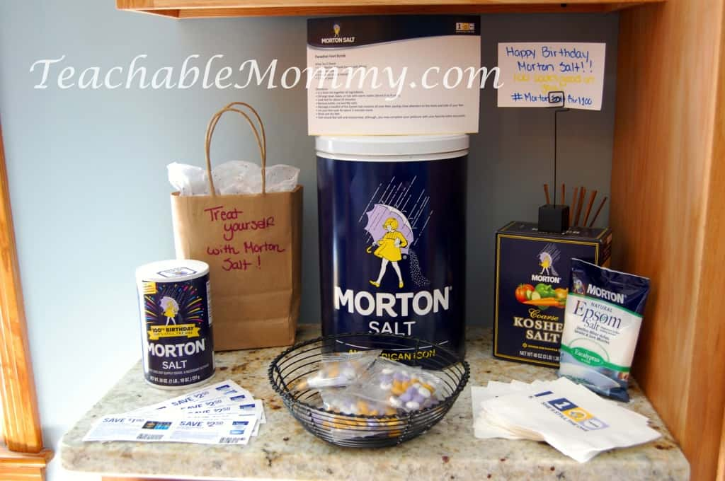 Morton Salt MommyParty #MortonSaltGirl100