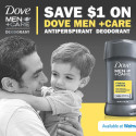 Getting Ready with Dove Men Care