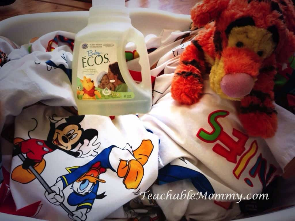 Baby ECOS products, green cleaning products, safe for baby