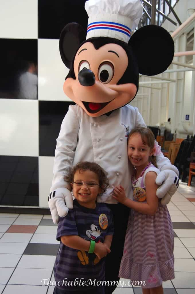 Chef Mickey's, Do you have to plan everything for a Disney Vacation? Disney Vacation Planning, How not to stress planning a Disney World Vacation