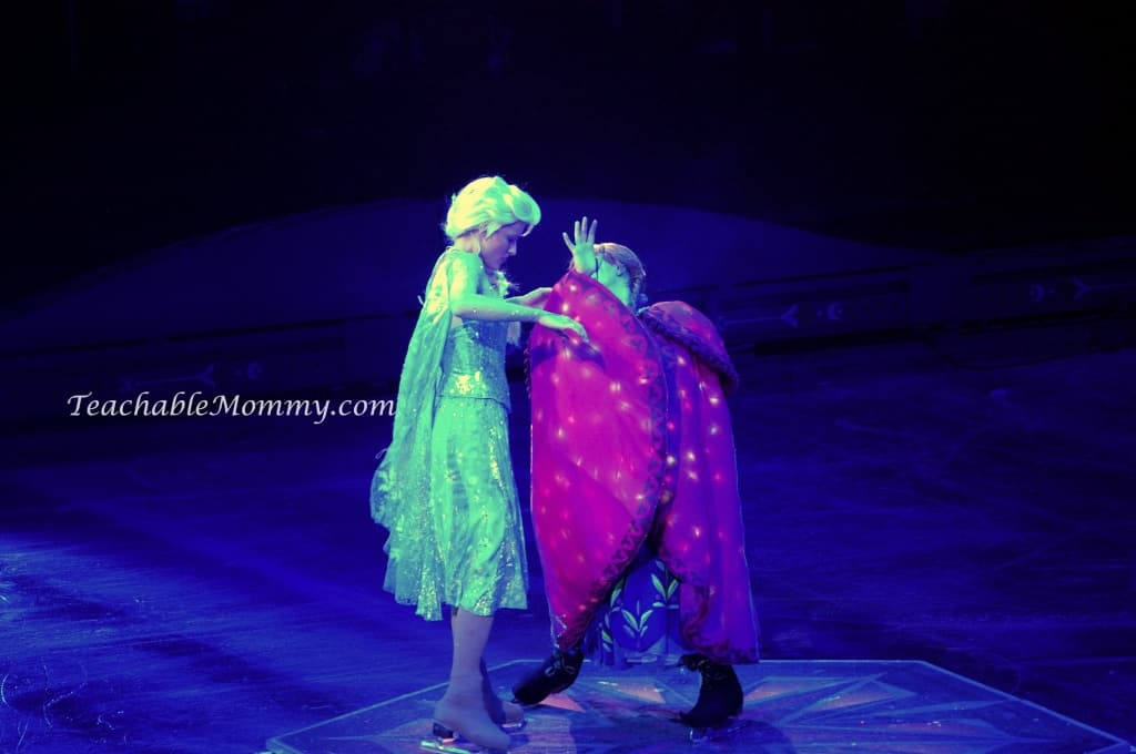 Disney On Ice presents FROZEN! , Elsa and Anna