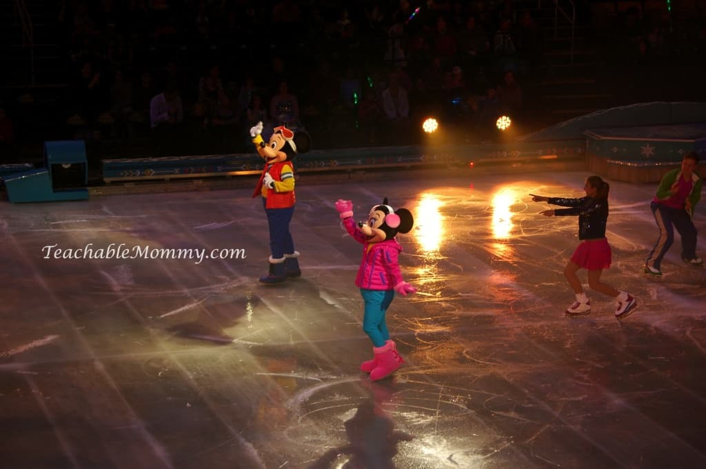 Disney On Ice presents FROZEN! , Mickey and Minnie Mouse