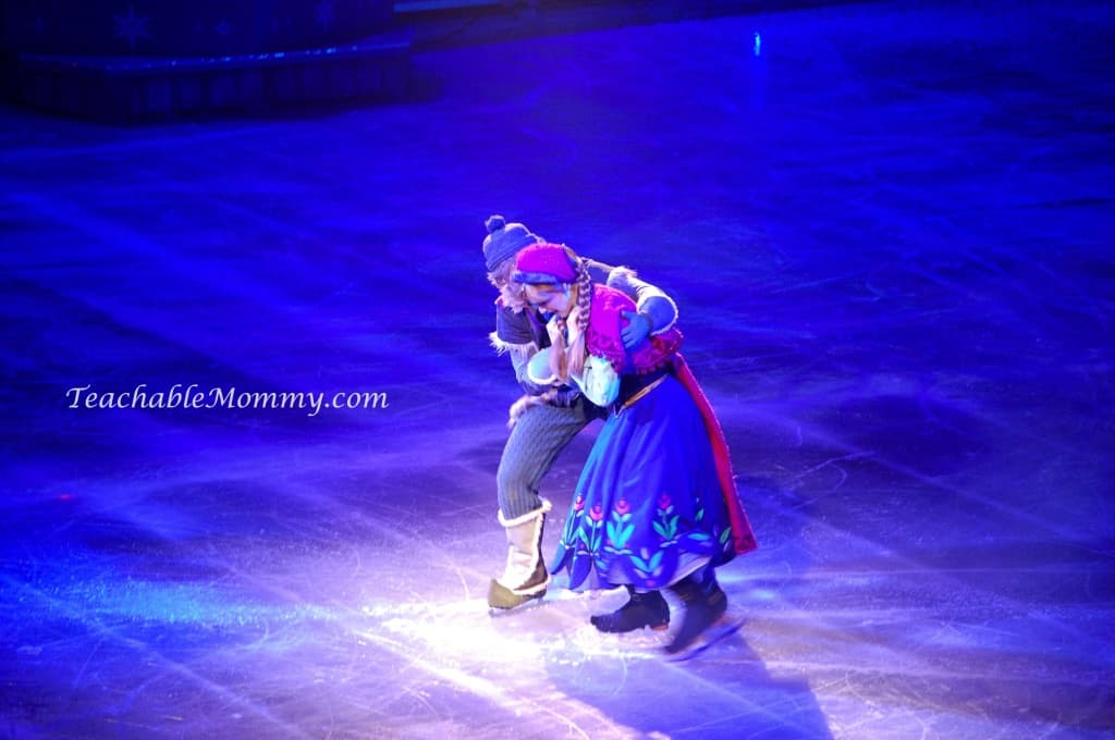Disney On Ice presents FROZEN! , Anna and Kristoff