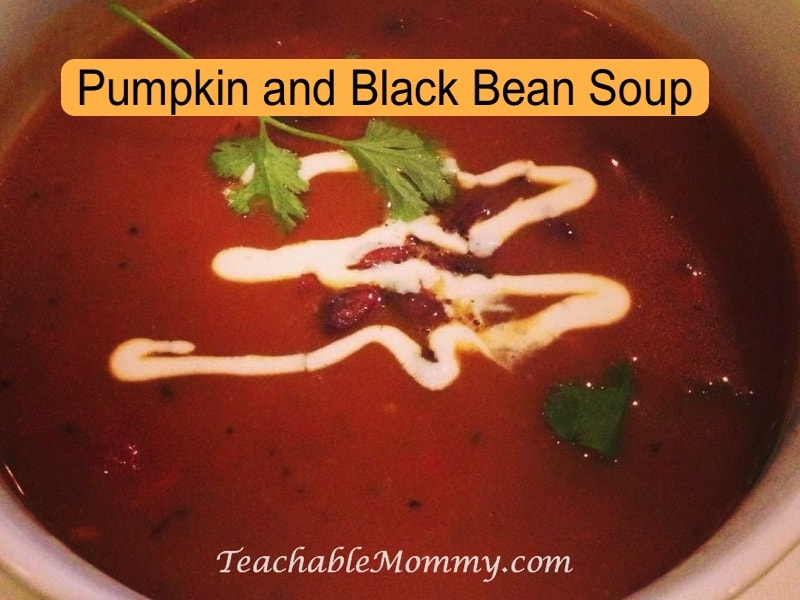 Chef Geoff's Pumpkin and Black Bean Soup recipe, Chef Geoff's recipe, Pumpkin and Black Bean Soup Recipe