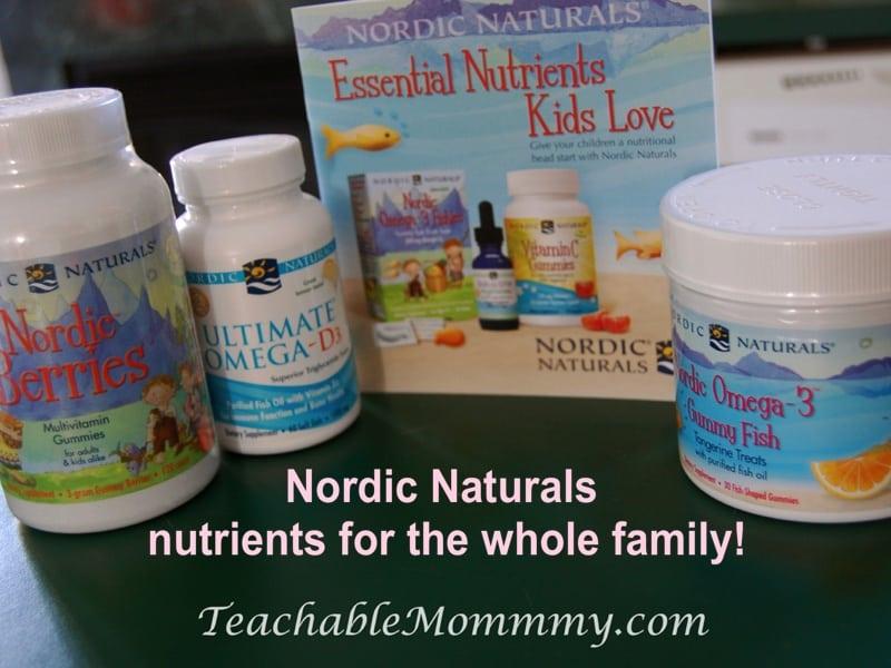 nordic naturals vitamins for the whole family! nongmo
