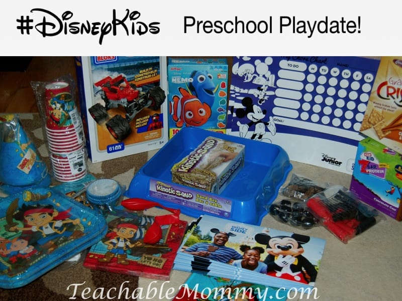 DisneyKids Preschool Playdate, DisneyKids games, Disney Kids activities, Jake and the Neverland Pirates Party