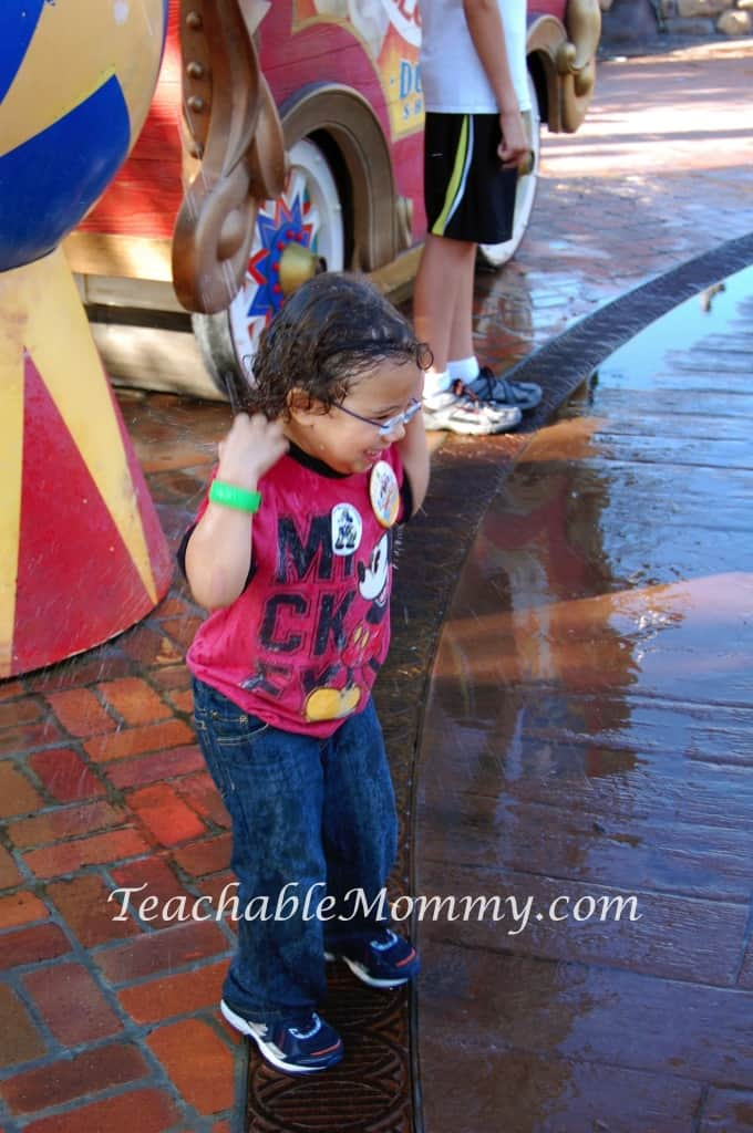 Walt Disney World free activities, Casey JR Splash n Soak at Magic Kingdom