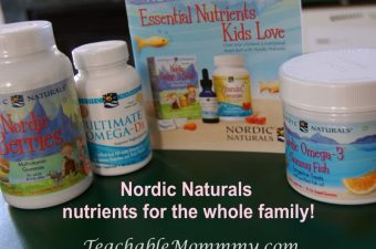 Keep The Family Healthy with Nordic Naturals!