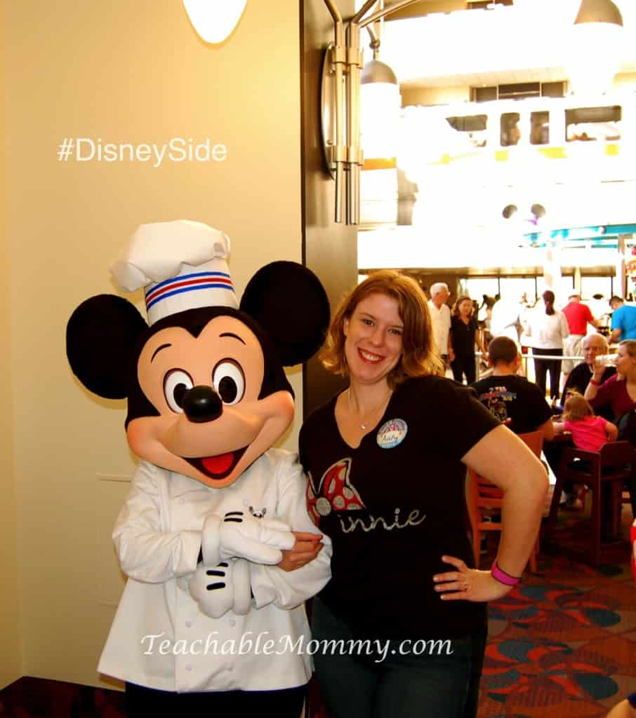 #DisneySide @ Home Celebration, Chef Mickey