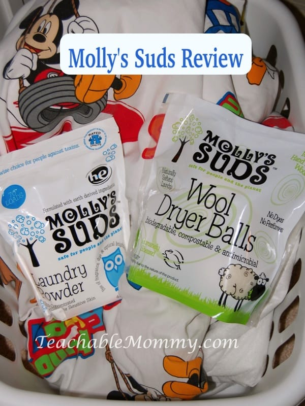 Molly's Suds Natural Laundry Products Review, KIWI Shop products